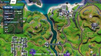 fortnite week 3 alien artifact location 2 map