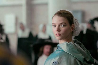 Anya Taylor-Joy stars in the TV adaptation of 'The Miniaturist.'