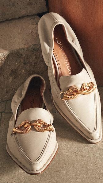 Jessa Pointy Toe 20mm Loafers