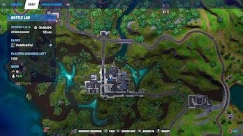 fortnite week 3 alien artifact location 3 map