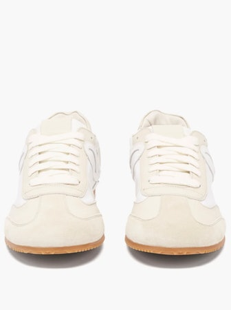 Ballet Runner Leather Trainers