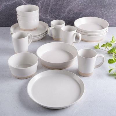 Speckled Stoneware Dinnerware Set