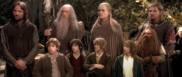 The Fellowship of the Ring, the first movie of the trilogy, premiered in 2001.