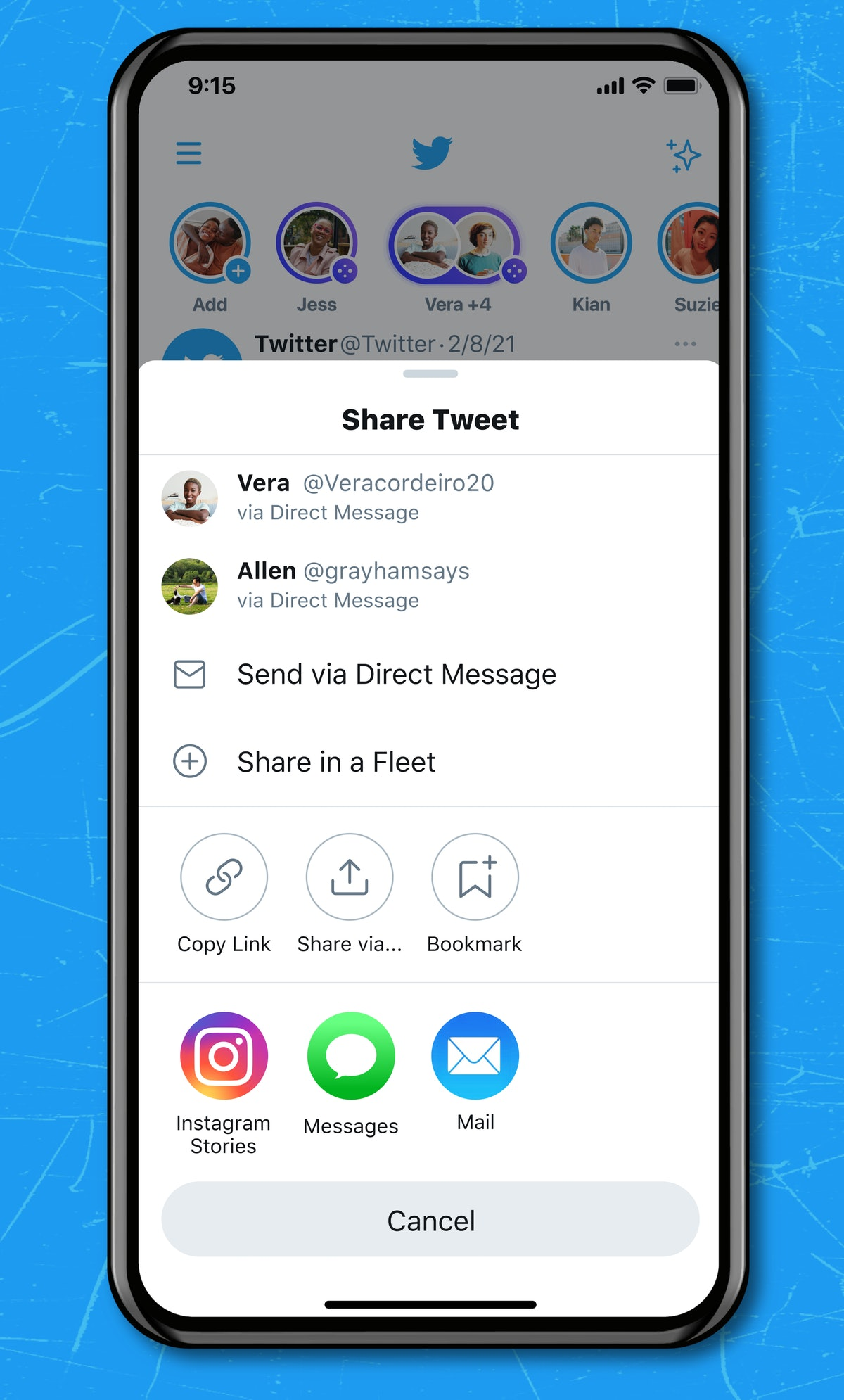 Here's how you can share tweets on Instagram straight from Twitter.