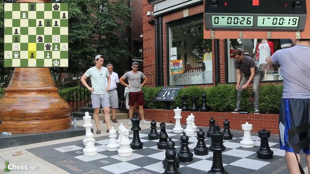 Giant bullet chess