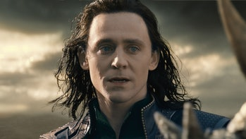 Tom Hiddleston's Loki is good at a lot of things. Fighting's not one of them.
