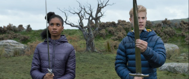 The Kid Who Would Be King is a modern retelling of the Aurthrian legend.