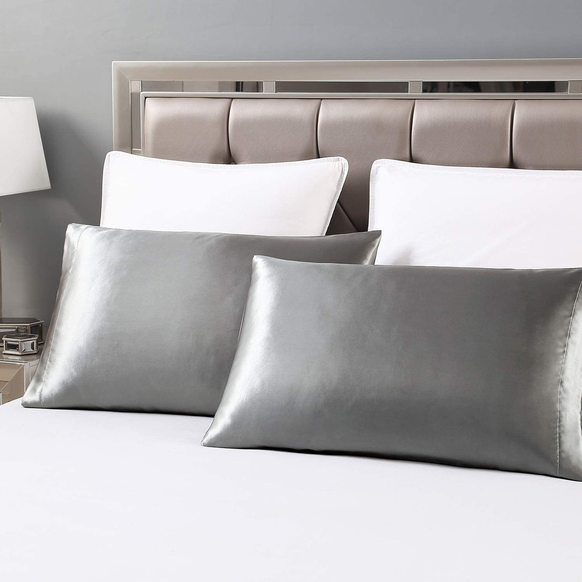 Love's cabin Silk Satin Pillowcase (2 Pack)
