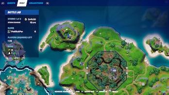 fortnite week 3 alien artifact location 4 map