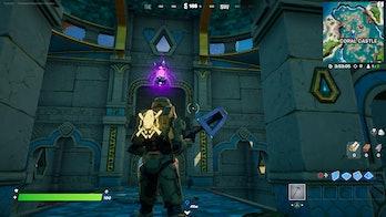 fortnite week 3 alien artifact location 1 gameplay
