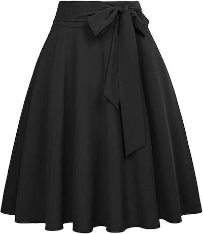 Belle Poque High Waist A-Line Skirt