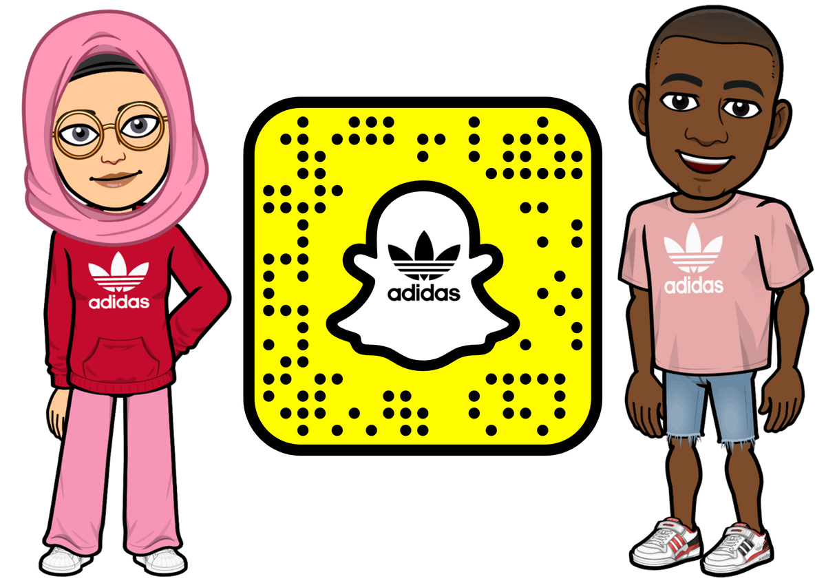 Snapchat's Adidas Bitmoji collection includes some much-hyped sneakers.