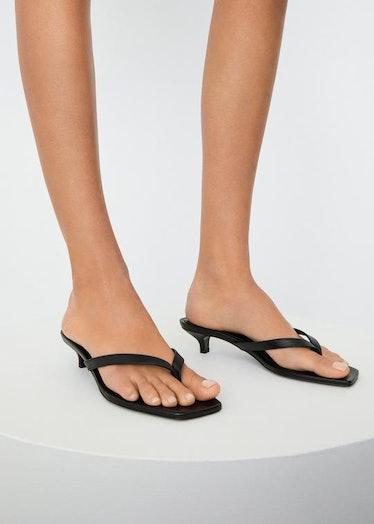 The Flip-Flop Heel black