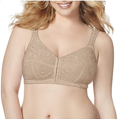 Just My Size Front-Close Wire-Free Bra