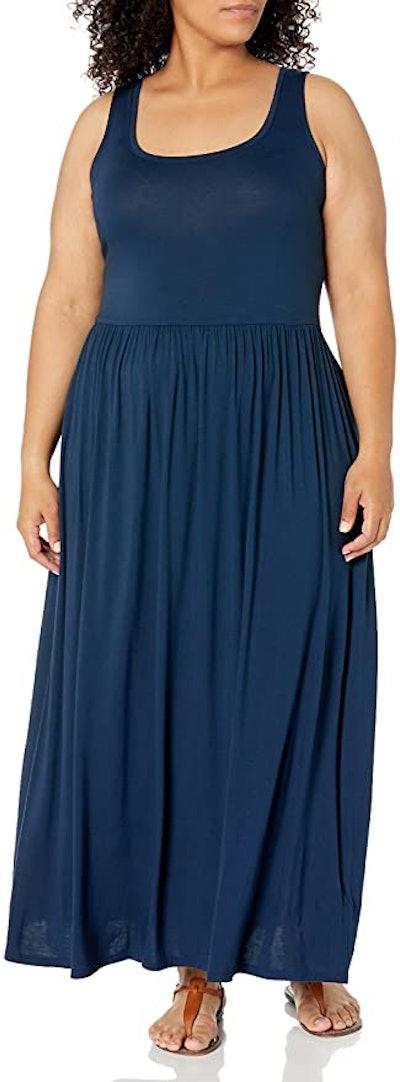 Amazon Essentials Plus Size Tank Waisted Maxi Dress