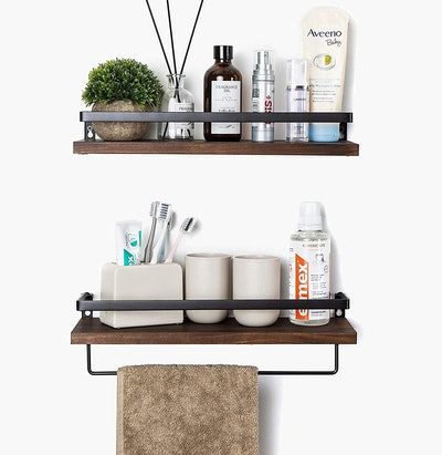SODUKU Floating Wall Shelves (Set of 2)