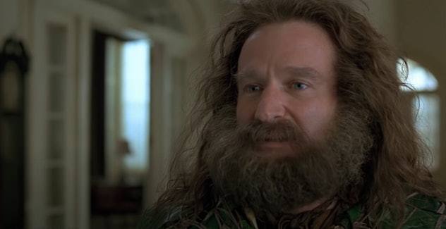 """""""WHAT YEAR IS IT?!"""" Jumanji is a classic fantasy movie for kids."""