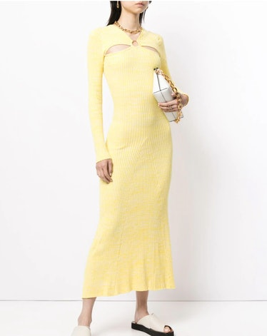 Halle Knit O-Ring Sweater Dress