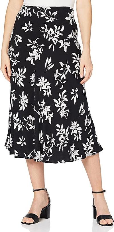 find. Women's Floral Midi Skirt