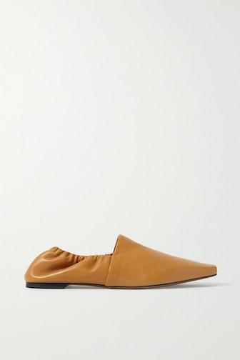 Alba Leather Ballet Flats