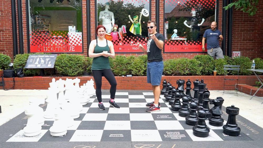 Giant bullet chess Danny Rensch