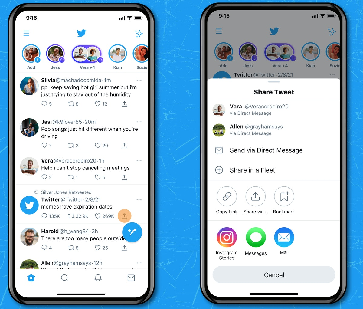 Here's how you can share tweets on Instagram directly from the Twitter iOS app.