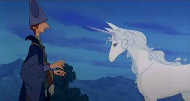 The Last Unicorn is a fantasy movie for kids based on the novel by Peter S. Beagle.
