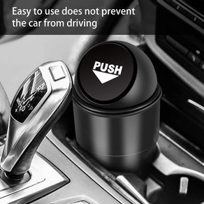 YIOVVOM Vehicle Automotive Cup Holder Garbage Can