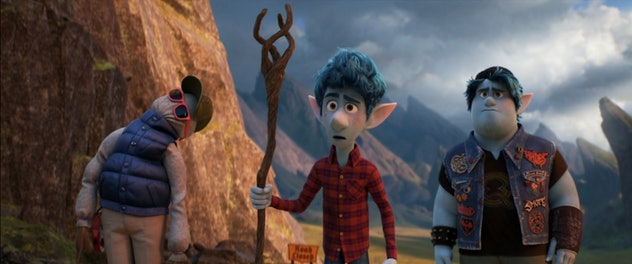 Onward is a fantasy movie for kids from Pixar.