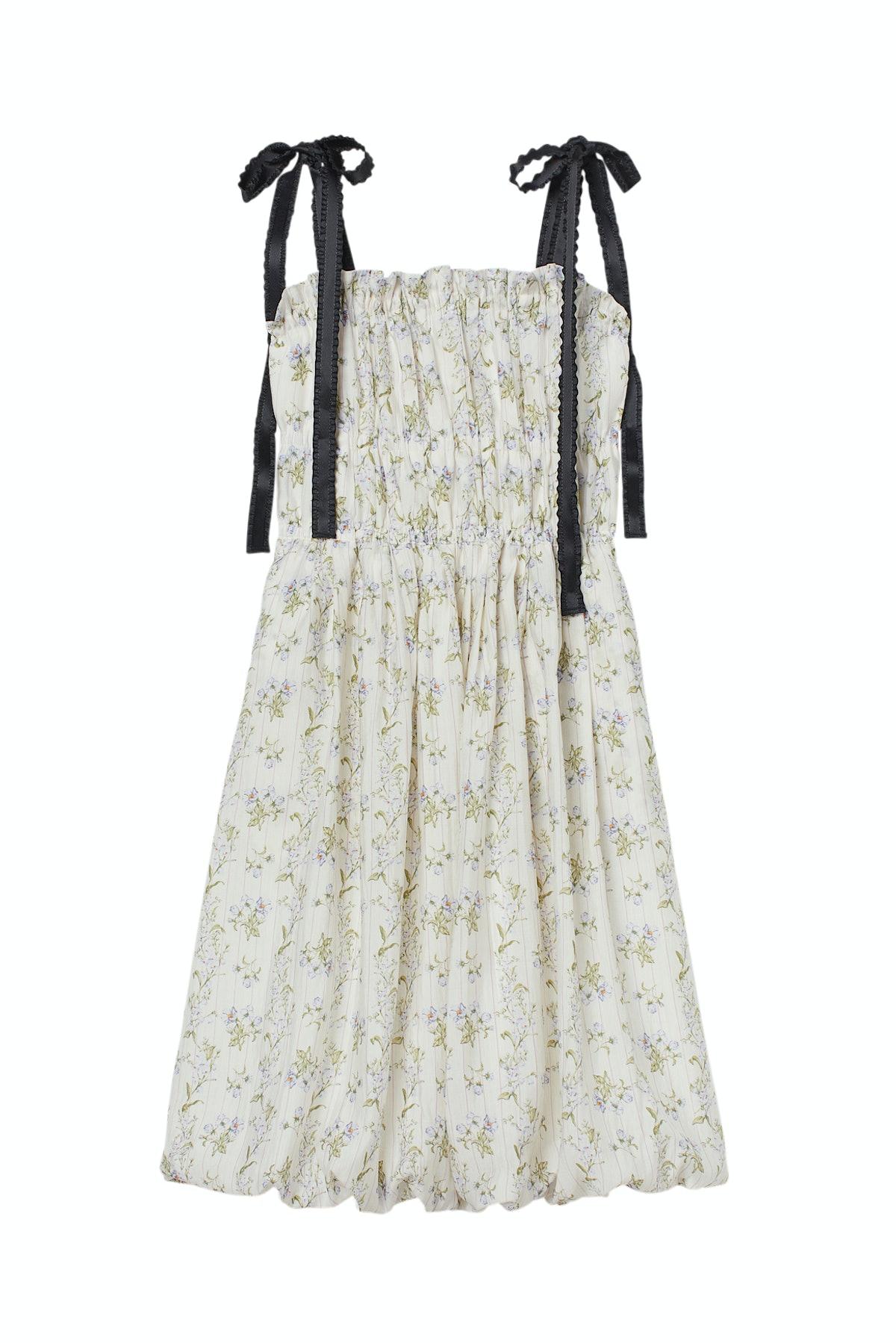Lyocell-Blend Dress