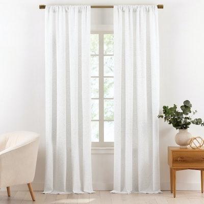 Organic Cotton Light Filtering Curtains
