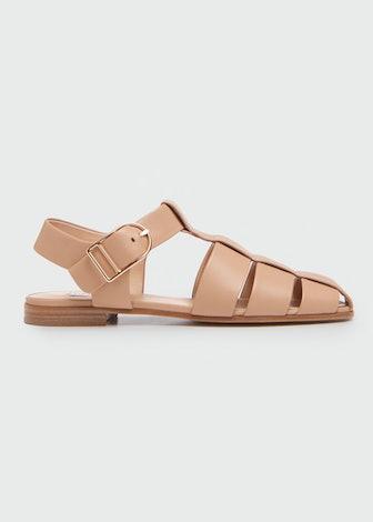 Lynn Flat Gladiator Sandals