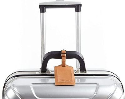 Travelambo Leather Luggage Tags (2-Pack)