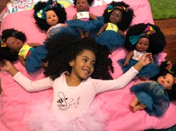 Orijin Bees is a Black doll company founded by Melissa and Ese Orijin.