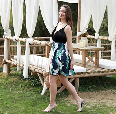 STYLEWORD Casual Sundress with Pocket