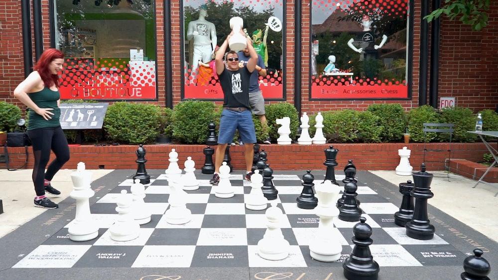 Danny Rensch giant bullet chess