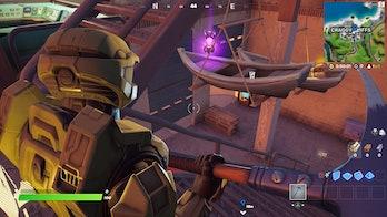 fortnite week 3 alien artifact location 2 gameplay