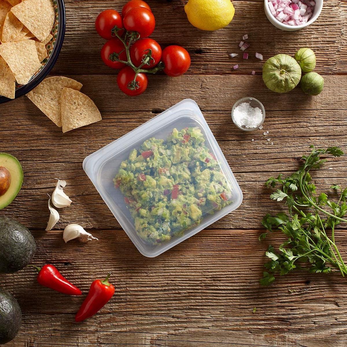 Stasher Silicone Reusable Food Storage Bag