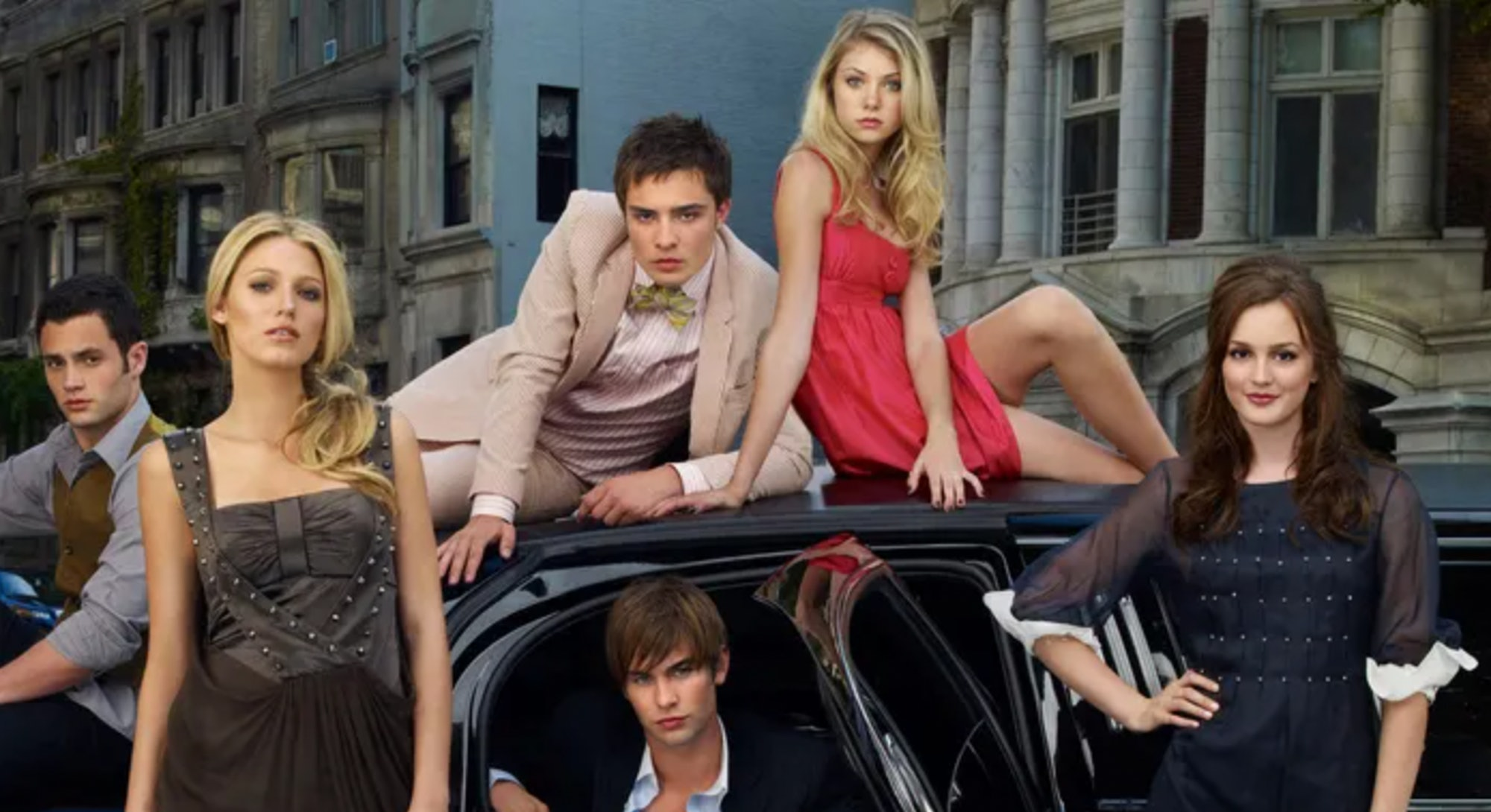 The original Gossip Girl cast.