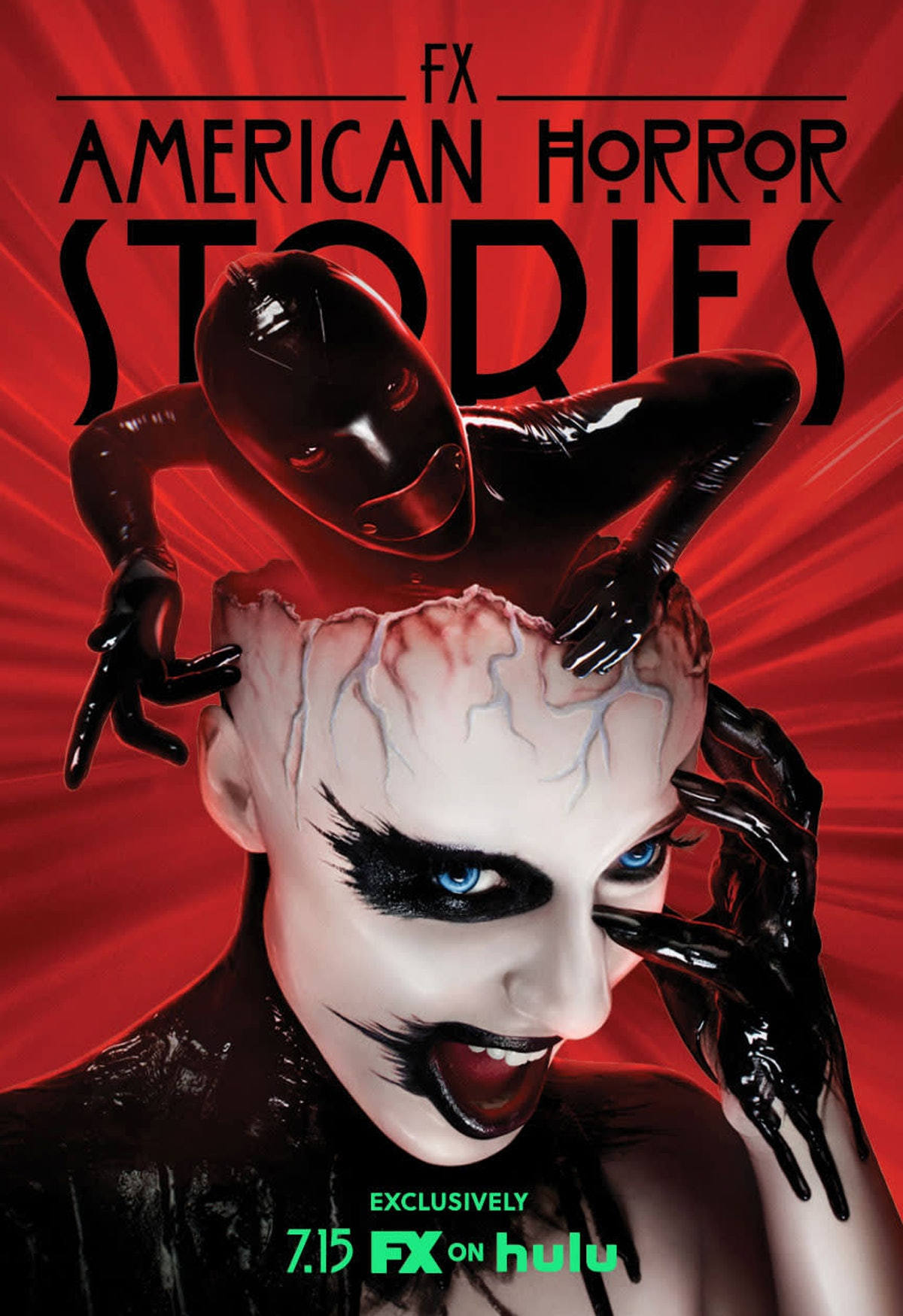 The Rubber Woman poster for American Horror Stories