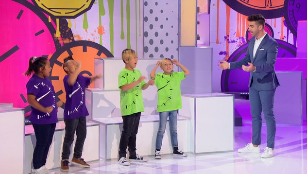 Beat the Clock is a game show for families