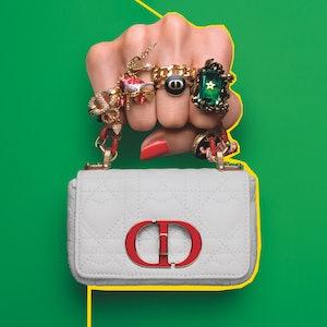 Dior's Caro Microbag