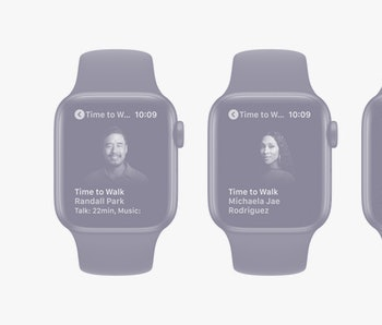 Season 2 of Time to Walk for Apple Fitness launching on June 28 with guests Randall Park, Stephen Fr...