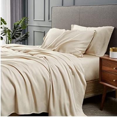 Bedsure 100% Bamboo Sheets, Full Size