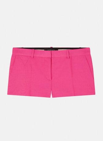 Wool & Mohair Blend Shorts