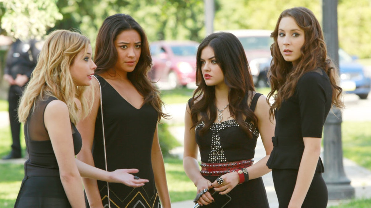 """The cast of the Freeform series """"Pretty Little Liars."""""""