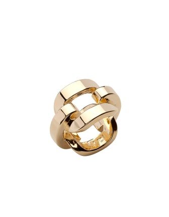 Chain Link Pinky Ring