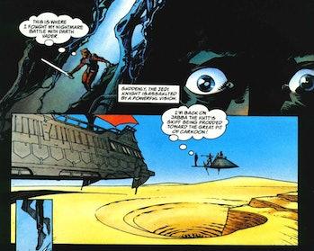 Mandalorian Season 3 Jorj Car'das cave of evil vision