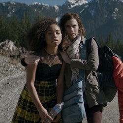 A still from the movie 'The Perfection' starring Allison Williams, Logan Browning.