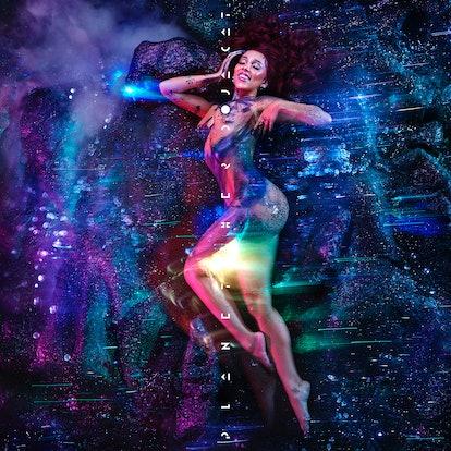The artwork for Doja Cat's album 'Planet Her.'